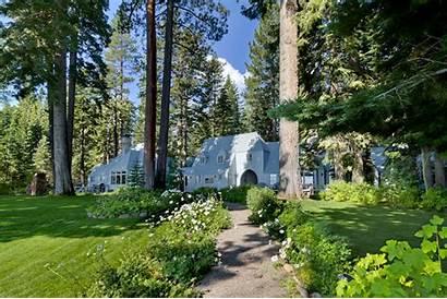Tahoe Lakefront Estate Carousel Mansion Houses Lake
