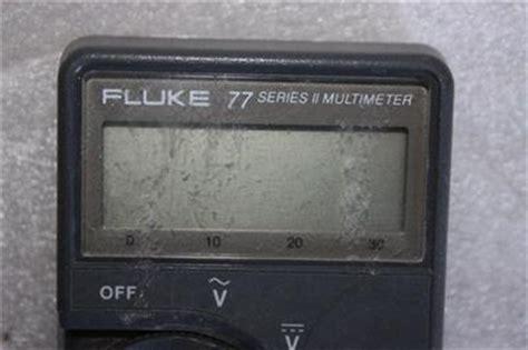fluke 77 series ii multimeter ebay