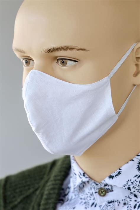 Mund-Nasen-Schutz weiss - Trachtenmode Hiebaum