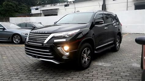 Toyota Fortuner Modification by India S Top Modified New Toyota Fortuner Five Best