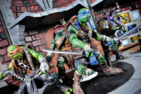 turned toy ish tmnt action figures  awesome  accurate collectibles shouts