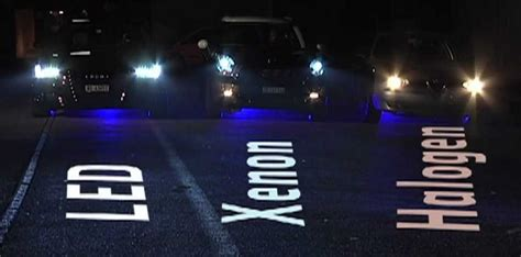 headlights led xenon halogen vs hid lights difference better cars