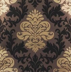 Lounge barock rasch tapete bestseller 156645 gold braun for Balkon teppich mit barock tapete gold braun