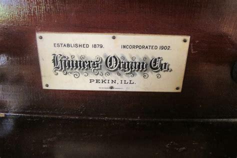 Trinity Lutheran Chenoa Illinois Hinners Tracker Organ
