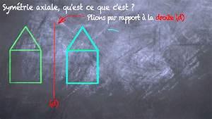 Qu Est Ce Qu Une Loggia : sym trie axiale qu 39 est ce que c 39 est 6eme youtube ~ Dode.kayakingforconservation.com Idées de Décoration