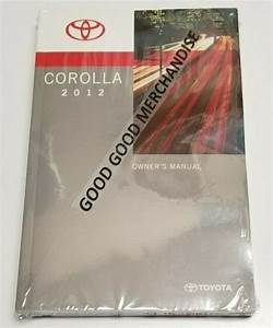 2011 Toyota Corolla Le Sedan Owners Manual