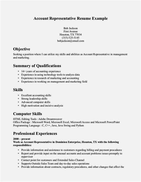 customer service representativ functional resume resume