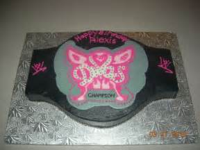 belt cake theme party all about wwe wrestling