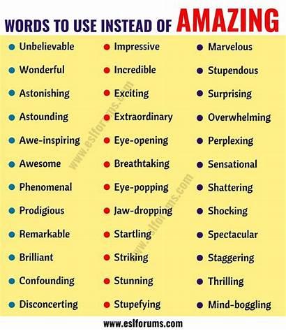 Amazing Synonyms Synonym Examples Eslforums Words English