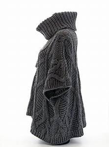 Pull Laine Homme Grosse Maille : charleselie94 poncho pull cap laine alpaga grosse maille hiver amandine femme charleselie94 ~ Melissatoandfro.com Idées de Décoration