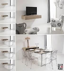Meuble Gain De Place Pour Studio : exceptionnel meuble gain de place studio 9 les 25 ~ Premium-room.com Idées de Décoration