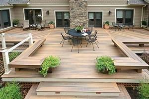 Poser Une Terrasse En Composite : comment faire la pose d une terrasse composite tape par tape comment maison ~ Melissatoandfro.com Idées de Décoration