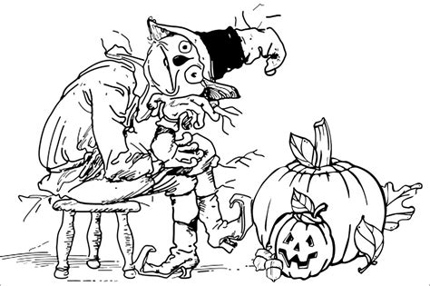 fallhalloween coloring pages az coloring pages