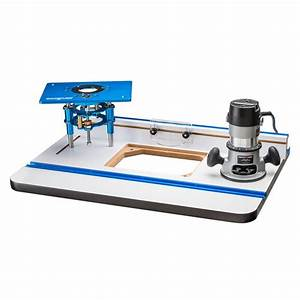 Rockler High Pressure Laminate Router Table, Fence, Router