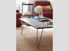 MAKE YOUR OWN HAIRPIN LEG TABLE Metals, Legs and Diy wood