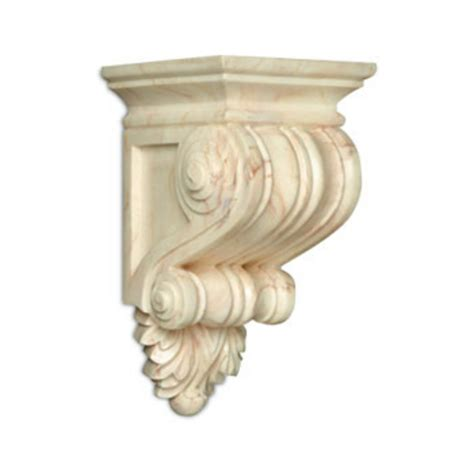 Resin Corbel by Decorative Hardware Fluted Resin Corbels By White River