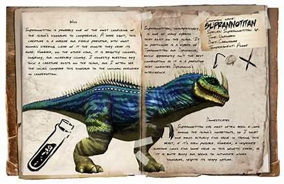 Dino Notes Tlc Ark Rare Animals Dossier