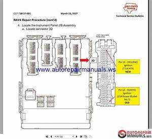 Auto Repair Manuals  Toyota Rav4 2016 2 5 Wiring Diagrams