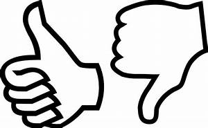 Thumbs down outline clipart - BBCpersian7 collections