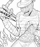 Jason Coloring Voorhees Mask Printable Getcolorings Colorear sketch template