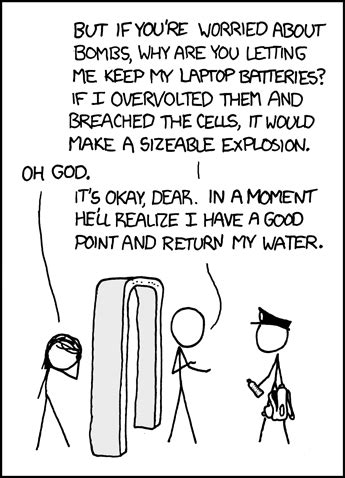 xkcd  airport security boing boing