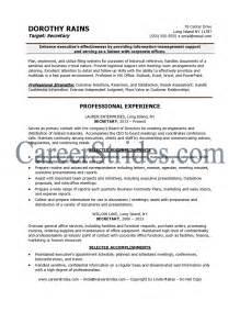 totally free resume writing services secretary resume exles getessay biz