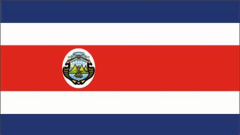 Costa Rica Flag and Anthem YouTube