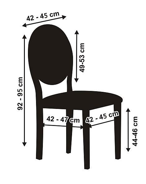 housse de chaise ronde mariage la housse de chaise en tissu luxe bords arrondis
