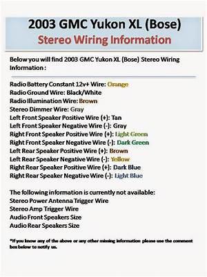 2002 Yukon Xl Stereo Wiring Diagram 25965 Netsonda Es