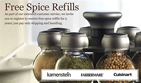 Kamenstein 16-cube Bamboo Inspirations Spice Rack With
