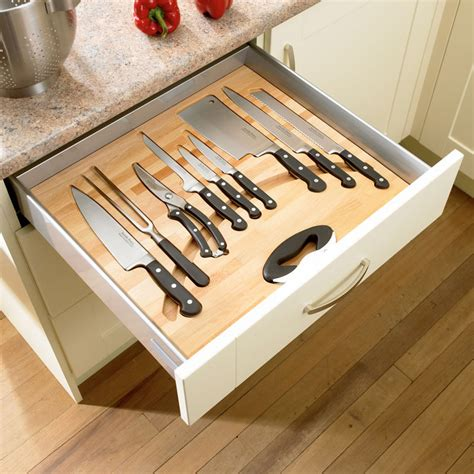 kitchen knife storage ideas kitchen drawer organization design your drawers so everything has a place contemporist