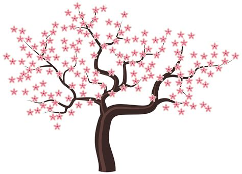 flowering trees clipart clipground