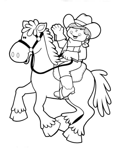 cowboy coloring pages cowboy and coloring pages cowboy coloring pages