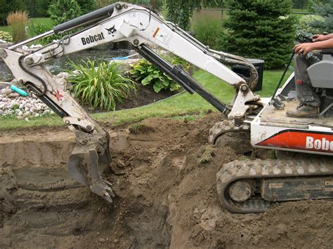 pond excavation toronto tips  dig  pond