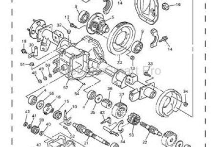Ezgo Golf Cart Differential Diagram by Ez Go Golf Cart Rear End Diagram Diarra Intended For Ez