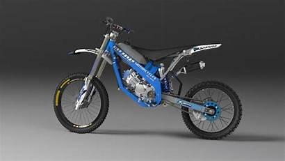 Moto Dirt Motorcycles Cad 3d Solidworks Grabcad