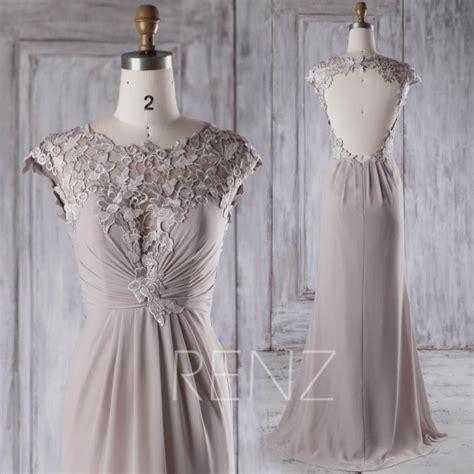 light grey bridesmaid dresses 2015 long gray bridesmaid dress light grey bow wedding