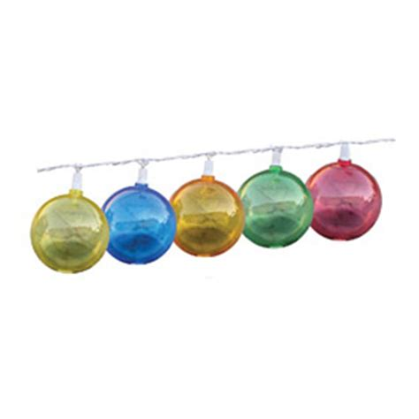 prime products multi colored patio globe lights
