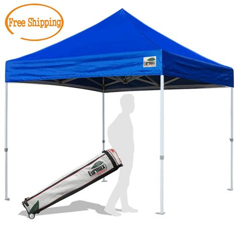 heavy duty  ez pop  canopy instant outdoor commercial tent  wheeled bag ebay