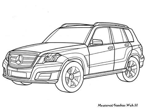 Gambar Mobil Gambar Mobilmercedes Slc Class by Gambar Mobil Untuk Diwarnai Anak Tk