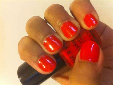 Coral Nail Polish- Neon, Pink, Bright, Light, Red, Orange