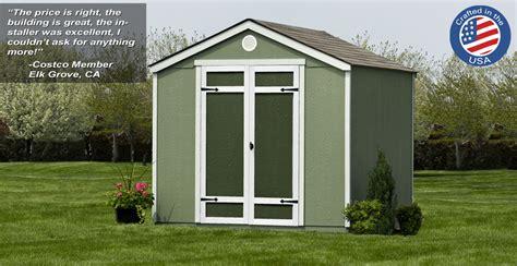 yardline wood sheds  costco yardline special