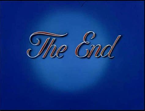The End A Metro Goldwyn Mayer Cartoon