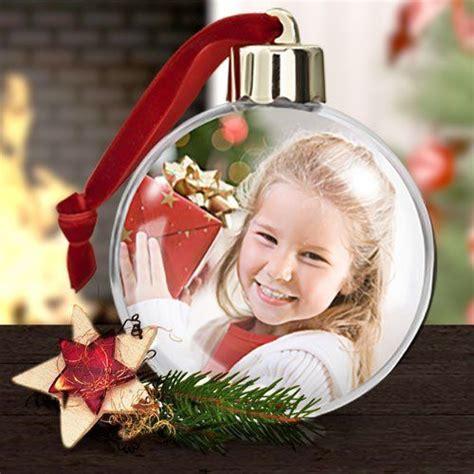 weihnachtskugel mit foto ein unikat fuer den weihnachtsbaum