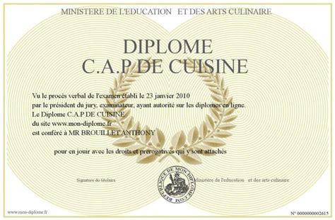 diplome de cuisine diplome de cuisine