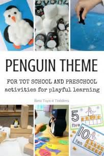 letter p penguin theme  tot school  preschool