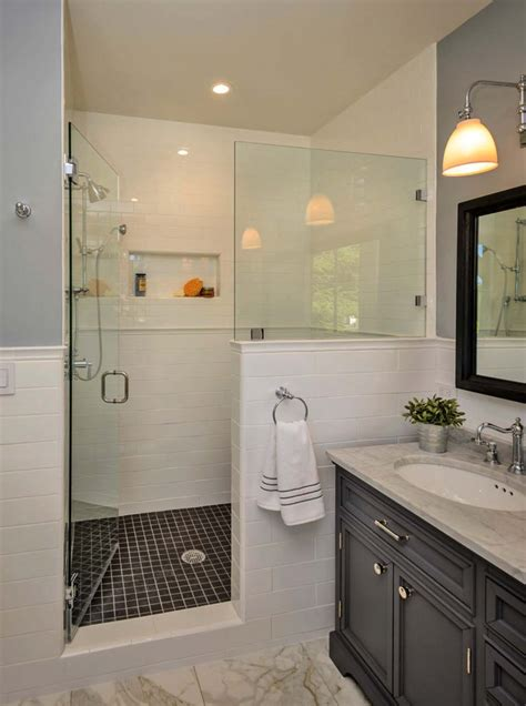 glass shower screen 53 most fabulous traditional style bathroom designs