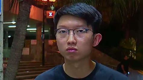 hong kong protest organizer challenges trump