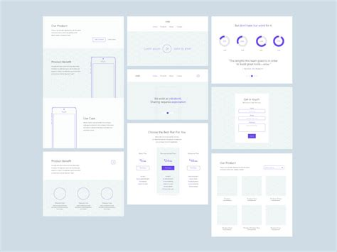 website wireframe template 30 free mobile ux web wireframe templates