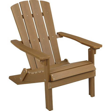 adirondack table and chairs stonegate designs folding resin adirondack chair brown